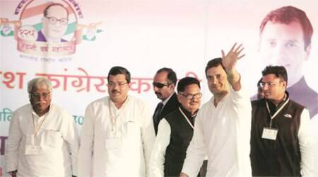 rahul gandhi, rohith vemula, rohith vemula suicide, rahul rohith suicide case, dalit conference lucknow, rahul gandhi dalit conference, mayawati, lucknow news, india news, latest news