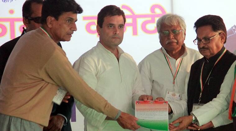 rahgul gandhi, congress, up election, Congress lucknow manifesto, congress dalit support, dalit convention lucknow, Uttar pradesh news, india news, lucknow news, latest news