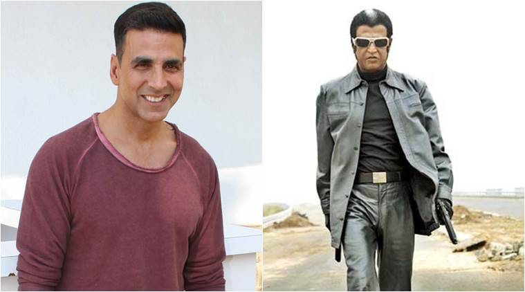 Rajinikanth, Akshay Kumar, Robot, Enthiran 2.0, Robot 2, Robot sequel, Enthiran 2.0 cast, Rajinikanth film, Rajinikanth upcoming film, Akshay Kumar films, Akshay Kumar upcoming film, Akshay Kumar news, Akshay Kumar Rajinikanth, entertainment news