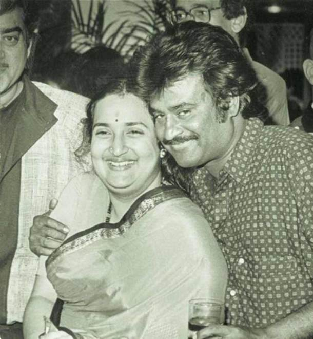 Image result for rajinikanth latha