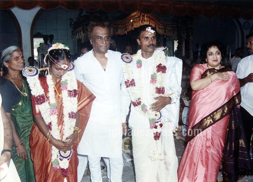 Rajinikanth, Rajinikanth wife