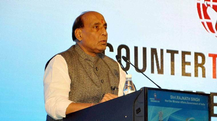 rajnath singh, pakistan, india, india counter terrorism conference, rajnath singh pakistan, india pakistan terrorism, india news, rajasthan news, latest news
