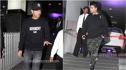 Ranbir Kapoor spends Valentine's Day with Karan Johar