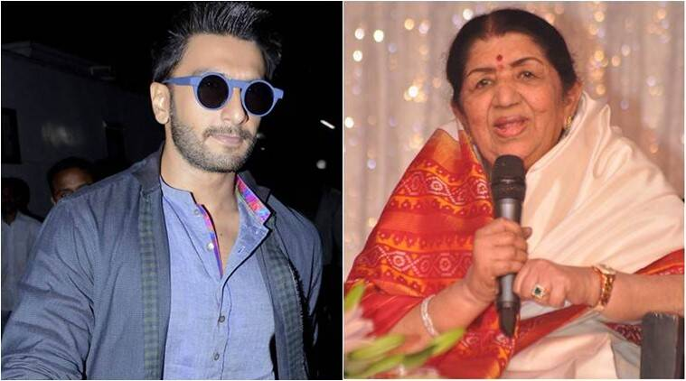 Ranveer Singh, Lata Mangeshkar, Dinanath Mangeshkar Award, Dinanath Mangeshkar Award RANVEER, Lata Mangeshkar NEWS, Ranveer Singh FILM, Ranveer Singh AWARD, Ranveer Singh upcoming film, entertainment news