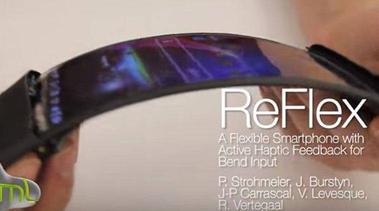 ReFlex is the world's first wireless smartphone with a flexible OLED display that runs Android KitKat operating system