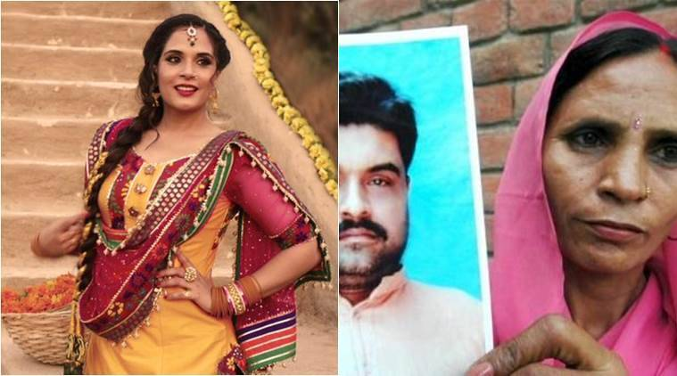 Richa Chadha, Sarbjit, Sarbjit shoot, Sarabjit's wife, Aishwarya Rai Bachchan, Sarbjit cast, Richa Chadha Sarbjit, Richa Chadha film, Richa Chadha upcoming film, entertainment news
