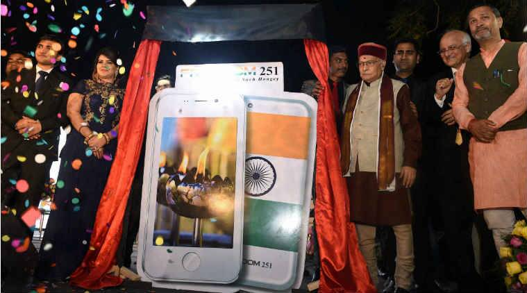 DIPP Secretary Amitabh Kant today washed his hands of the Freedom 251 phone, which has run into a major controversy with questions being raised over the company providing mobile handset at a dirt cheap price.