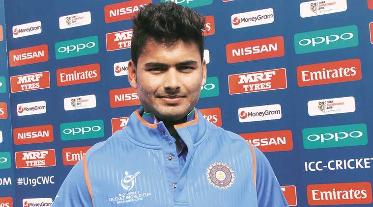 Rishabh pant, cricket, india cricket, under 19, under 19 cricket, under 19 captain, under 19 cricket captain, cricket news, india news, bangladesh under 19 world cup, bangladesh news