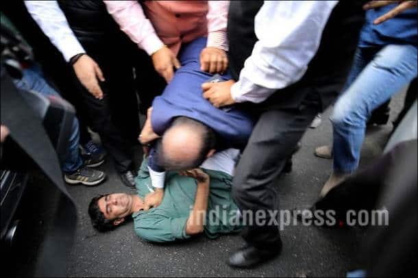 JNU, JNU Protest, Lawyers Protest, Kanhaiya Kumar, Narendra Modi, MAke In India, Grammy Awards 2016, Grammys 2016, Taylor Swift, Lady Gaga, Turkey Bombing, Uganda Protest, Top Frames, Indian Express