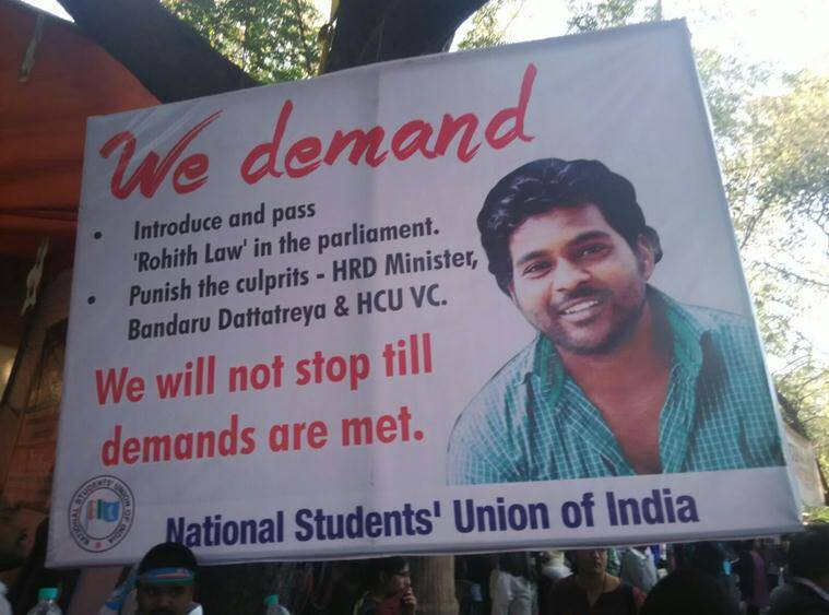 Rohith Vemula, Chalo Delhi, Politics, India, News