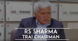 Idea Exchange With Trai Chairman RS Sharma