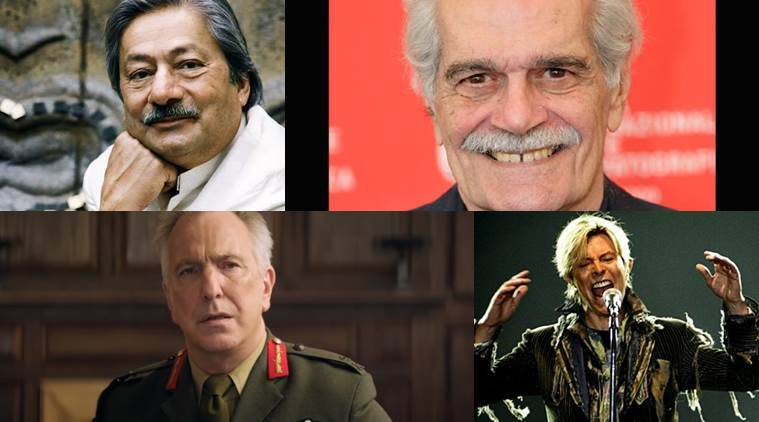 Oscars, Oscars 2016, Saeed Jaffrey, Saeed Jaffrey news, Omar Sharif, Alan Rickman, David Bowie, entertainment news