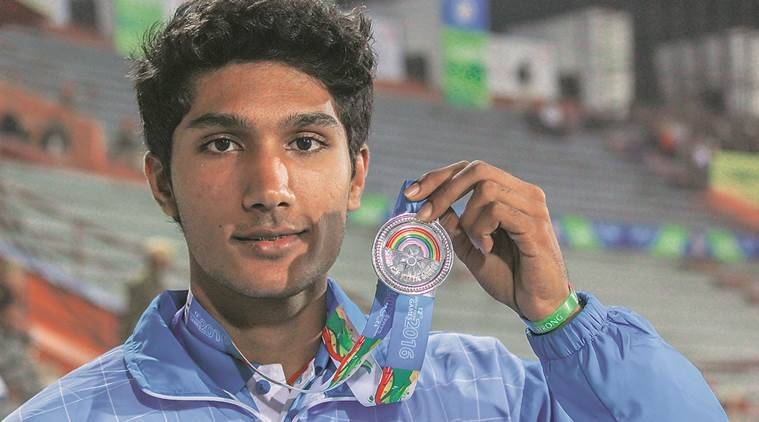 tejaswin shankar, tejaswin high jump, shankar high jump, high jump india, sag 2016, south asian games, 2016 south asian games, sag 2016 high jump india, sag india medal tally, delhi boy sag 2016, delhi boy high jump sag 2016, sports news, india news, delhi news, sports