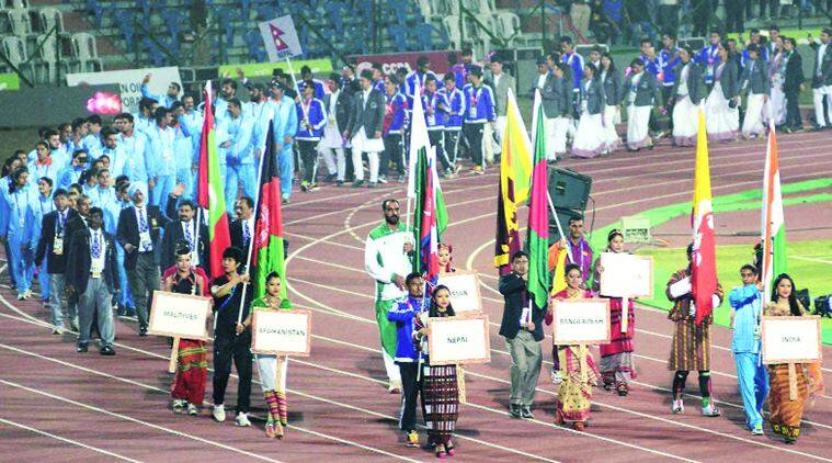 Sag  Sag Sag Games South Asian Games Sag Games India