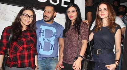 Salman Khan, Preity Zinta, Sussanne's 'unplanned' dinner