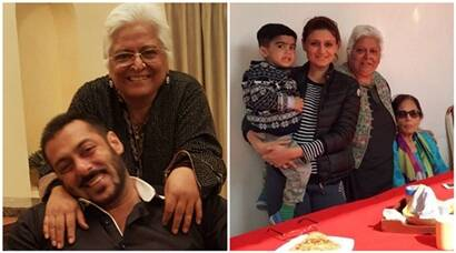 Salman Khan's family time with mother Salma Khan and actress Bina Kak