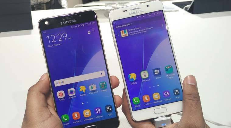 Samsung Galaxy A7, Samsung, Galaxy A series 2016, Galaxy A7 2016 first look, Galaxy A5 first look, Galaxy A5 2016, Galaxy A7 India launch, Galaxy A7 Price, Galaxy A5 price, Samsung Galaxy A7 specs, Samsung Galaxy A5 specs, smartphones, technology, technology news