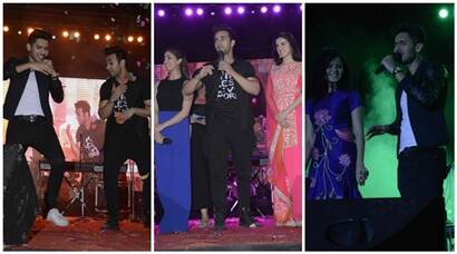 Yami, Pulkit, Divya at 'Sanam Re' music concert