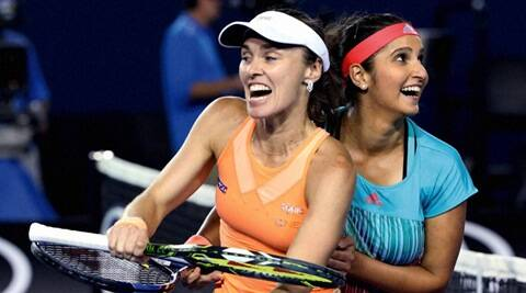 Sania Mirza, Martina Hingis, Sania Hingis, Sania win , Hingis win, St. Petersburg Ladies Trophy, St. Petersburg Ladies Trophy udates, tennis news, Tennis