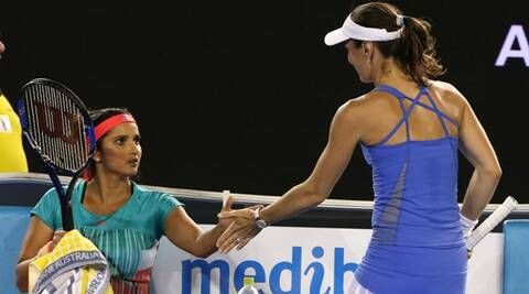 Sania Mirza-Martina Hingis extend unbeaten streak to 41  matches at Qatar Open