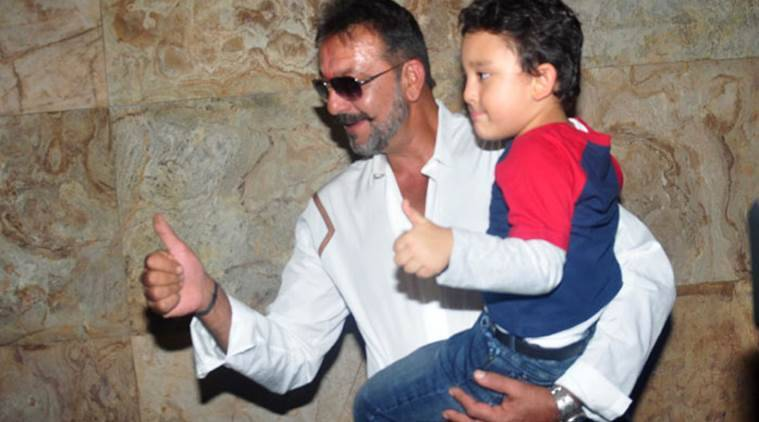 Sanjay Dutt's son to appear in remix of Raj Kapoor's song ...