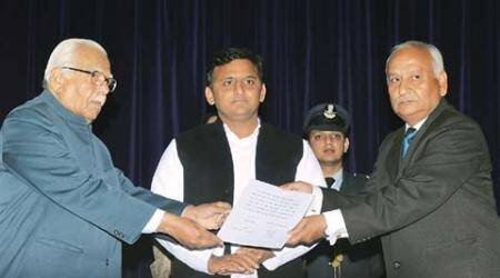 Sanjay Misra takes oath as Lokayukta