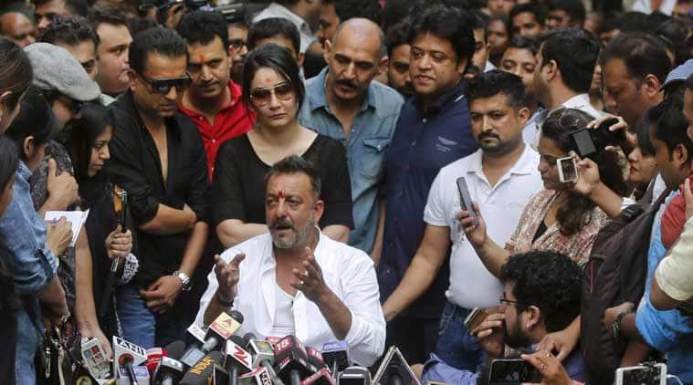 Sanjay Dutt, Sanjay Dutt jail, Sanjay Dutt prison, Sanjay Dutt press conference, Sanjay Dutt Maanyata Dutt