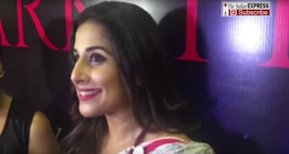 Vidya Balan Talks About Three Dark Things Of Bollywood