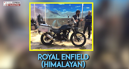 Royal Enfield Unveils 411cc Tourer Himalayan In India