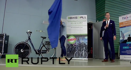 Netherlands: Solar powered bike unveiled in Eindhoven