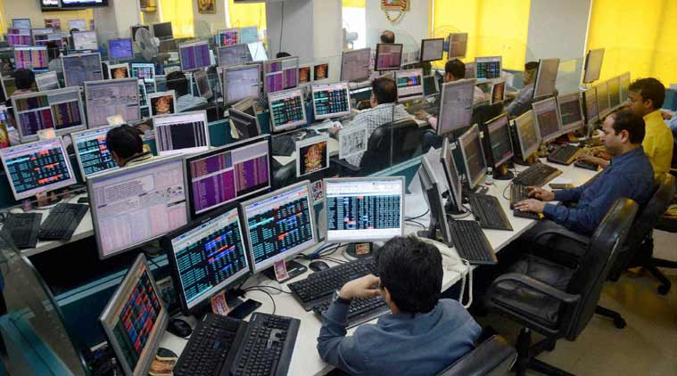 Sensex goes up 112 points
