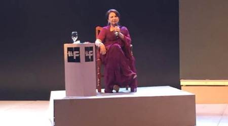 Sharmila Tagore expresses delight at being in Lahore