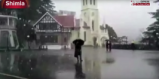 Shimla Receives Another Spell Of Snowfall