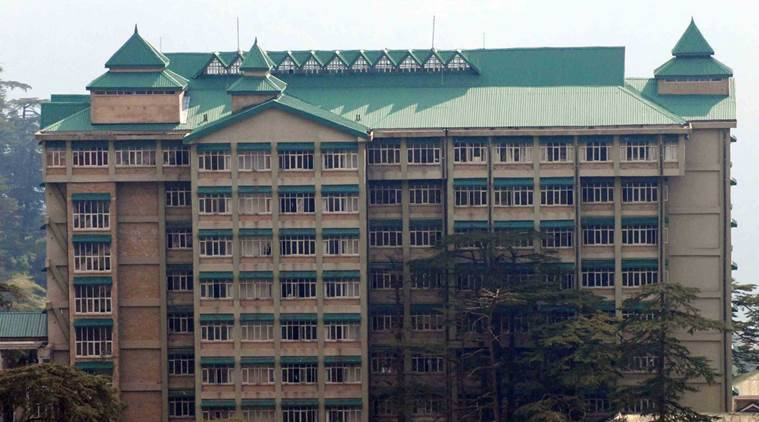 The Himachal Pradesh High Court in Shimla. Express photo.