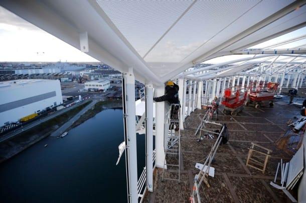 Sneak peek: Photos of world's biggest cruise ship, ever