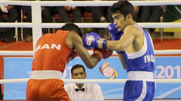 South Asian Games South Asian Games  Sag Sag  India Boxers
