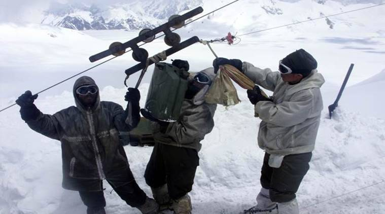 siachen kerosene supply
