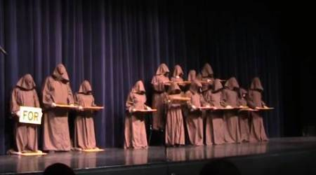 How silent monks sing the Hallelujah Chorus; and nail it!