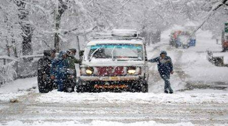 Highways in Jammu and Kashmir closed following heavy rains, snowfall