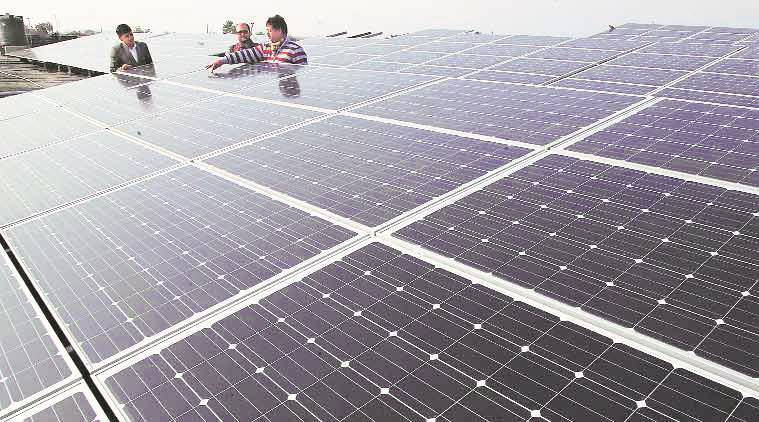 Solar power, Solar power chandigarh, Rooftop solar power plant, ministry of renewable energy, chandigarh solar power, postgraduate government college chandigarh, renewable energy, solar energy, solar power sources, solar power india