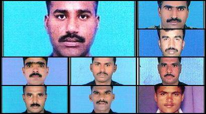 The nine soldiers who lost their lives in the Siachen avalanche