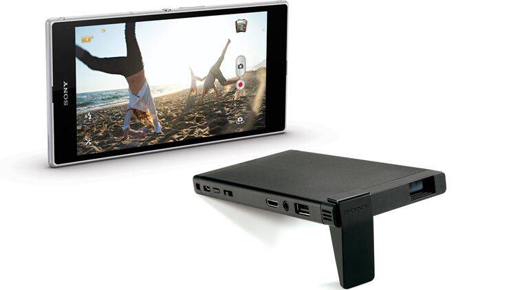 Sony, Sony mobile projector, Sony MP-CL1, Sony MP-CL1 mobile projector, gadgets, tech news, technology