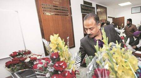 Chandigarh: With pictures of all his predecessors, Sood plans mayors' wall in hisoffice