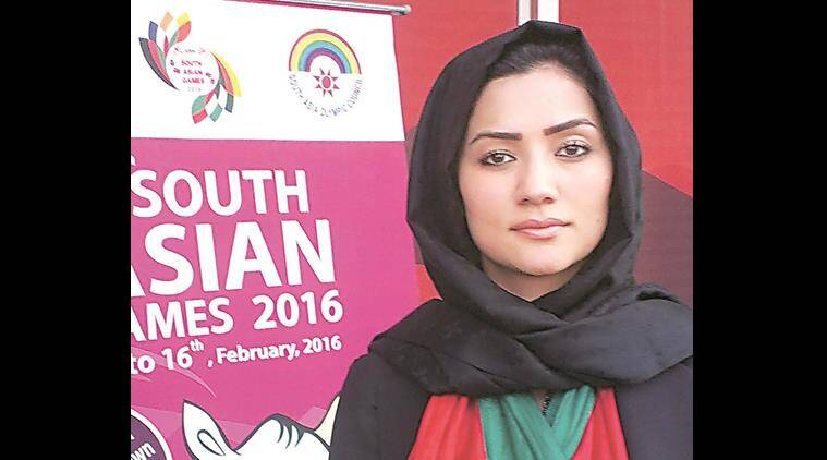 south asian games, sag 2016, 2016 sag, 2016 soth asian games, Afghanistan sag 2016, Robina Jalali, afghanistan olyimpics committee, sports news, 2016 sag news, latest news