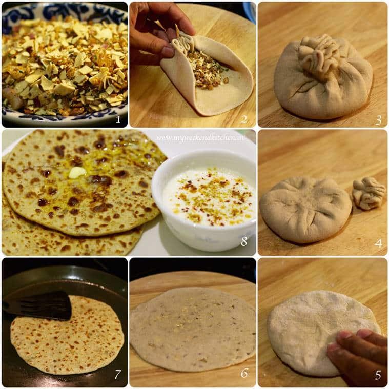 spicy papad parantha- step by step_759_MyWeekendKitchen