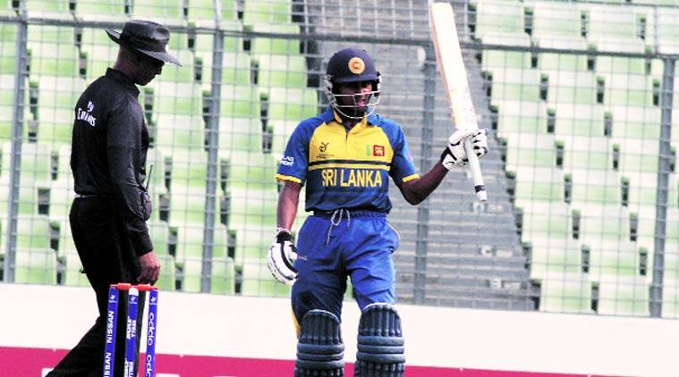 Sri Lanka's Kamindu Mendis can bowl with both arms and is handy with the bat as well. (Source: ICC)