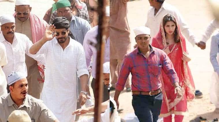 Shah Rukh Khan, Raees, Mahira Khan, Shah Rukh Khan Raees, Shah Rukh Khan Mahira Khan, SRK Mahira Khan, SRK Mahira, Nawazuddin Siddiqui, Raees Shoot, Entertainment news