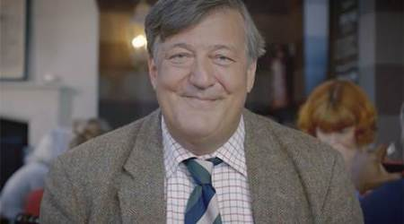 Stephen Fry criticised over 'bag lady' joke at Baftas 2016