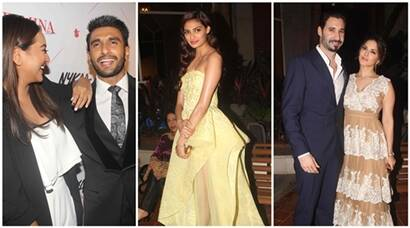 Ranveer Singh, Sonakshi Sinha, Athiya Shetty, Sunny Leone are a delight at an award show