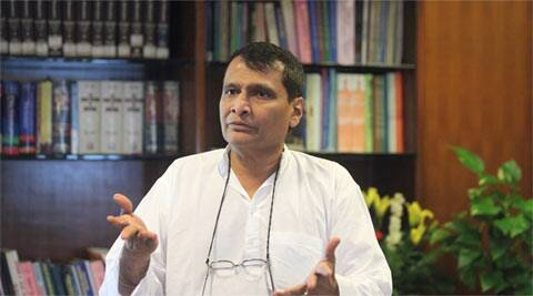 suresh prabhu, indian railways, new projects, maharashtra rail projects, western railways, mumbai, mumbai news, irctc, indian express suresh prabhu, indian express mumbai